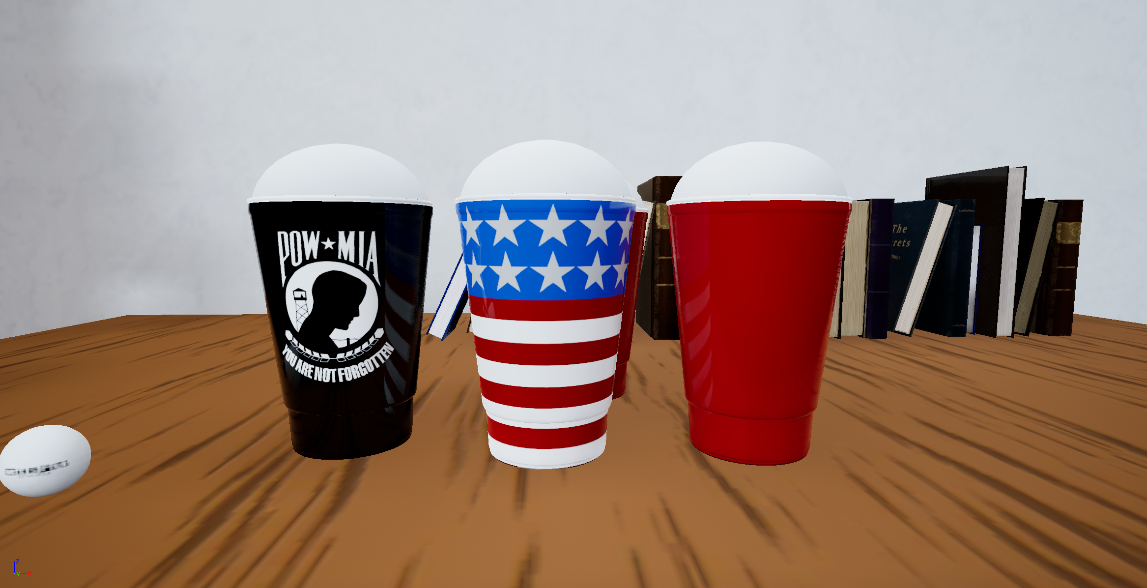 Earnable Cup Skins! More on their way!