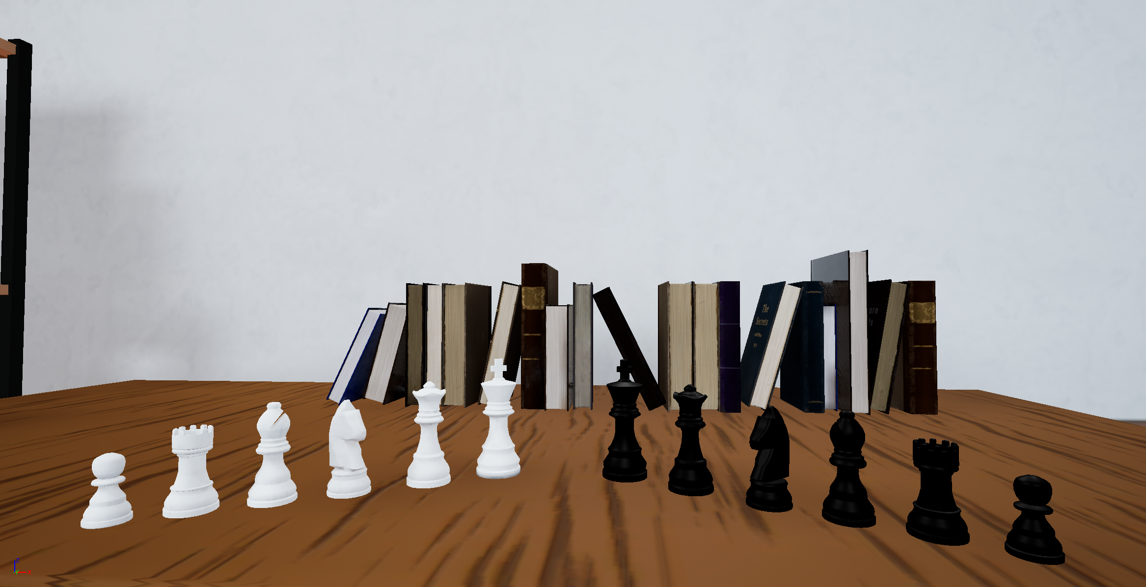 Complete detailed Chess Set added